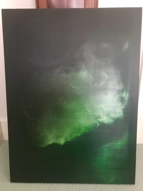 Courtney-Garrett-30-x-40-_Saturation-in-Green_-Oil-painting-