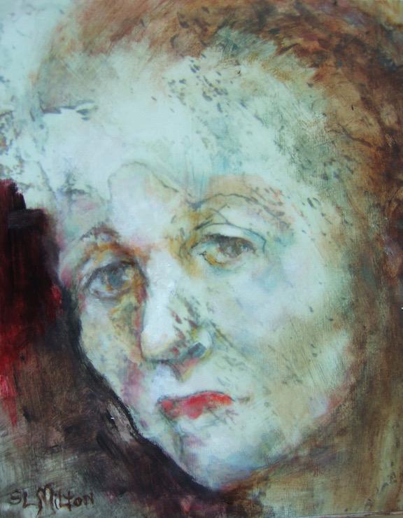 Sandra-Milton-Small-Elements-Faces-98-9-8_x-10_x-2_-Mixed-Media-Collage