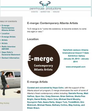 E-merge Airport Art Installation