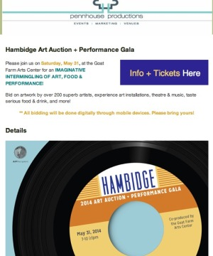 Hambidge Art Auction and Performance Gala